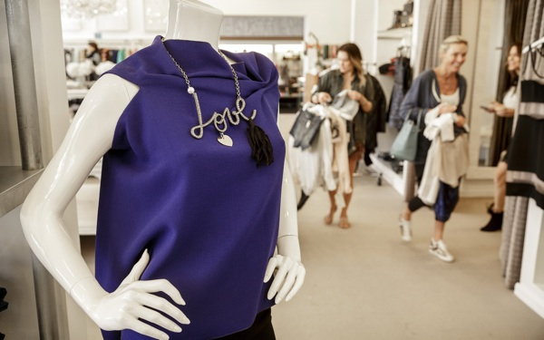 Text Dressing: High-End Retailer Uses High Tech to Transform Stars' Shopping