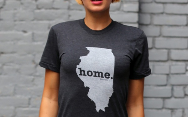 Home Tees: Cool Comfy Apparel Outlines State Pride