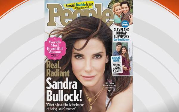 Most Beautiful Woman Sandra Bullock: