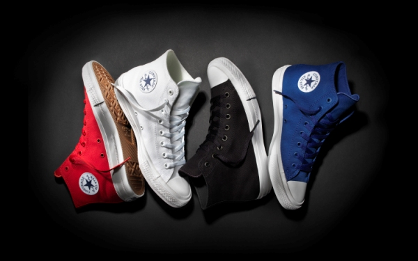 Testing Converse's Chuck Taylor All Star II vs. the original