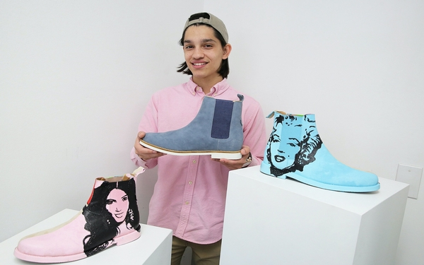 He loves shoes. So this 18-year-old Fla. student launched a line of men's luxury footwear.
