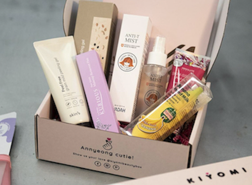 Skin care subscription box combines Korean culture and Colombian heritage