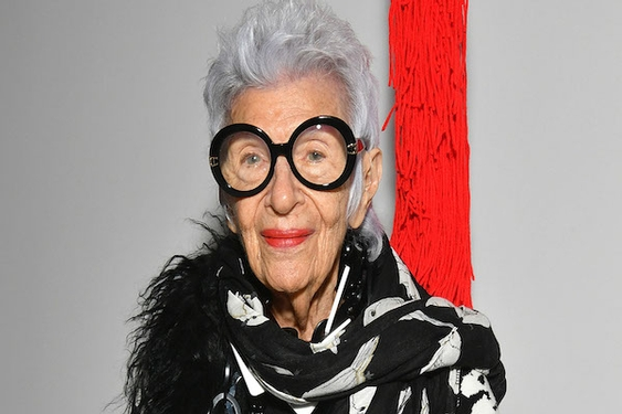 Fashion icon Iris Apfel on color, quarantine and teaching college students