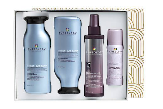 Winter Hair Tips + Holiday Gift Ideas from Pureology!