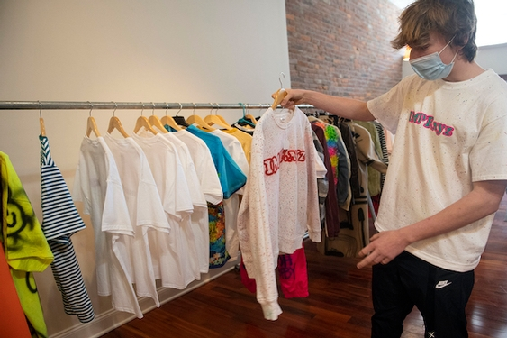 Teenager's IMPERFECT clothing line gives back to creatives and to charity