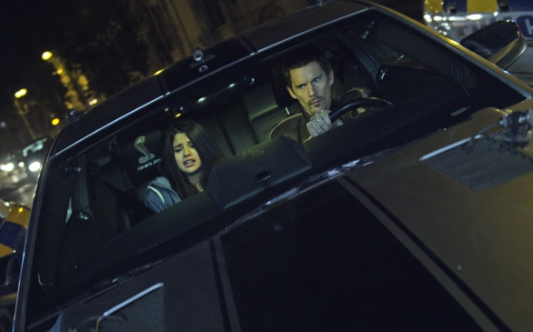 Selena Gomez, Ethan Hawke Rev Careers and Engines in New Movie <i>Getaway</i>