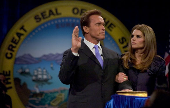 Arnold Schwarzenegger Admits to Affair