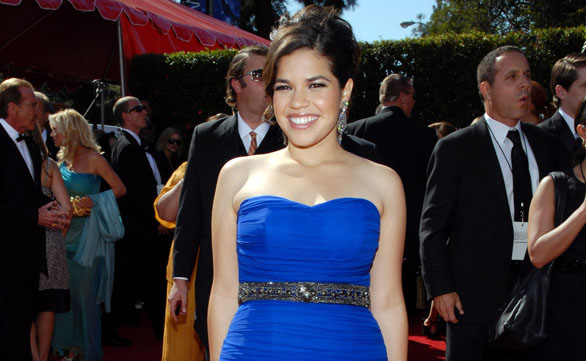 America Ferrera Now a Newlywed