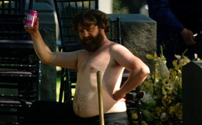 Zach Galifianakis Brings the Outbursts to <i>The Hangover Part III</i>