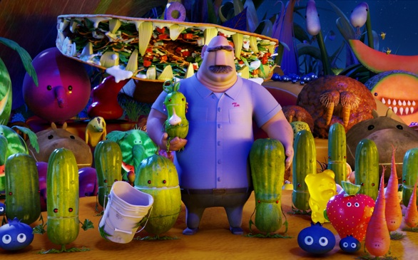 Food Gets an Attitude in <i>Cloudy with a Chance of Meatballs 2</i>