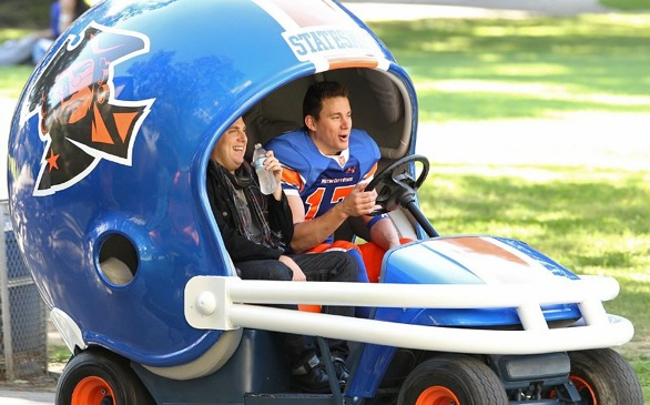 TRAILER ALERT: Channing Tatum, Jonah Hill Go to College in <i>22 Jump Street</i>