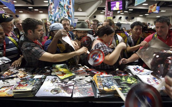What I Learned at Comic-Con