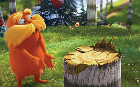 <i>Dr. Seuss' The Lorax</i> Claims Over $70 Million in Opening Weekend