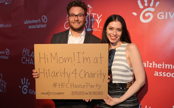 Seth Rogen's Hilarity for Charity Launches Collegiate Program