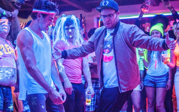 Zac Efron, Seth Rogen Sort of Grow Up in <i>Neighbors</i>