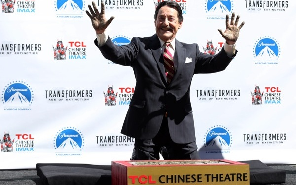 <i>Transformers: Age of Extinction</i> DVD/Blu-ray Release Launches with Handprint Ceremony
