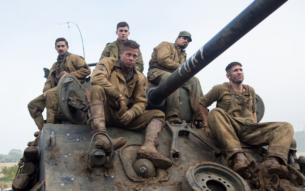 This War Movie Doesn't Hold Back: <i>Fury</i> Bursts with Grim Grittiness