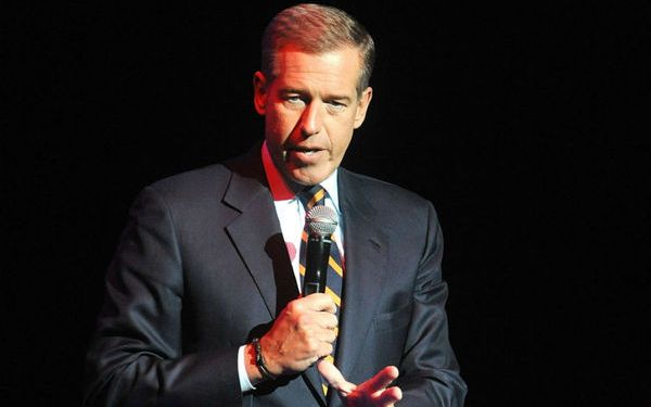 Brian Williams had it and he blew it