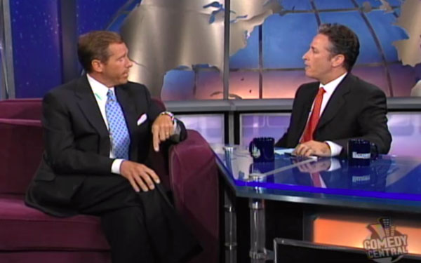 Sad ironies when Brian Williams met Jon Stewart on 'The Daily Show'