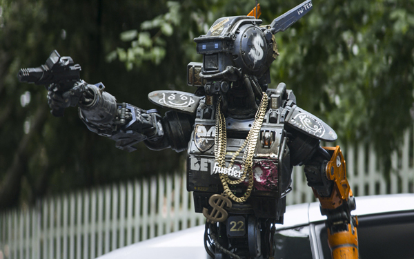 <i>Chappie</i> pits man vs. machine in the slums of Johannesburg