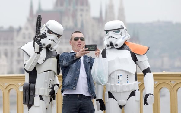 May the fourth be with you: fans celebrate Star Wars Day