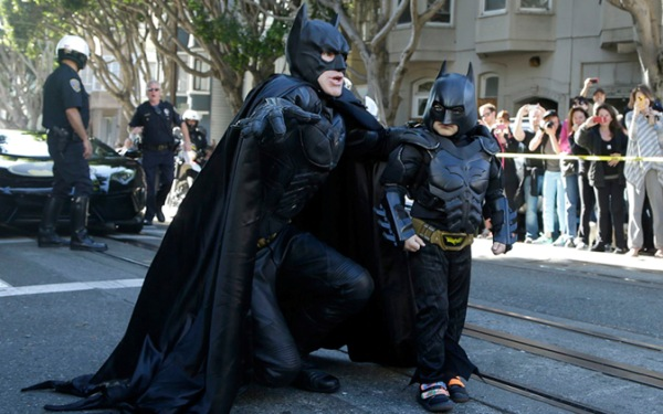 <i>Batkid</i>: For those involved in making boy's dream come true, the end result is pure joy
