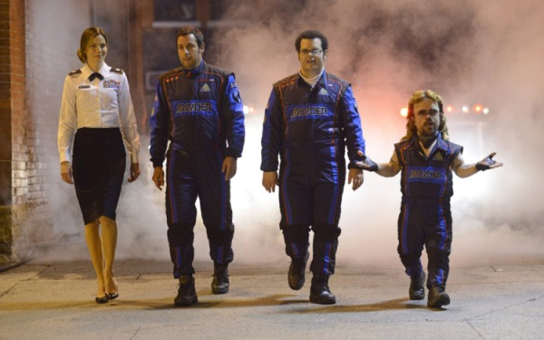 Director Chris Columbus rediscovers the video game genre with <i>Pixels</i>