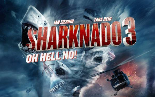 Is 'Sharknado 3' bad enough to be good fun?
