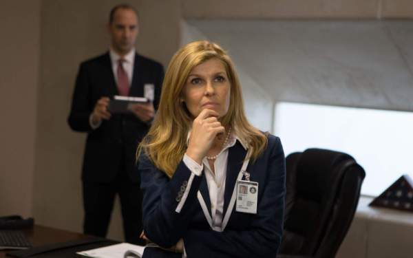 Actress Connie Britton finally gets some action in <i>American Ultra</i>