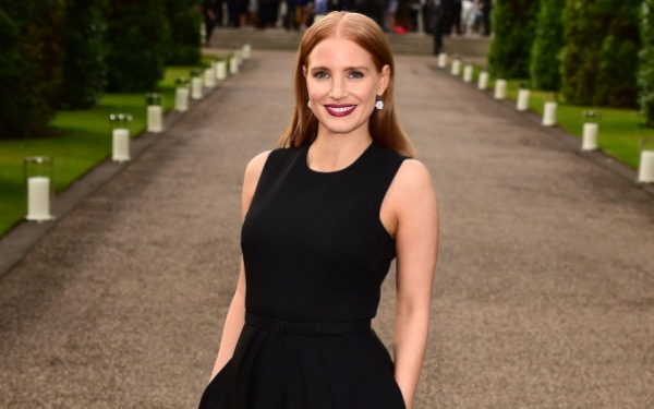 Heady days for Jessica Chastain