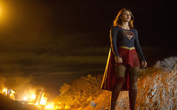 'Supergirl's' Melissa Benoist flies toward an audience and network expecting heroics