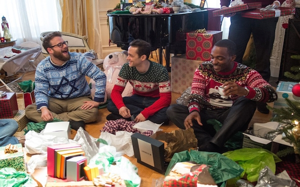 'The Night Before' is an instant Christmas classic: naughty, but nice