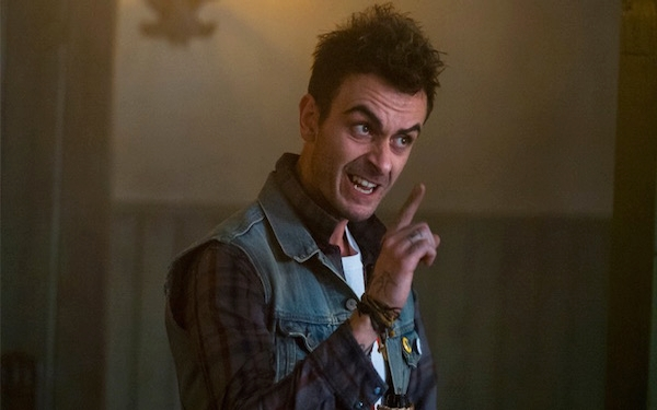 Joe Gilgun is good to go with all the gore in AMC's supernatural 'Preacher' western