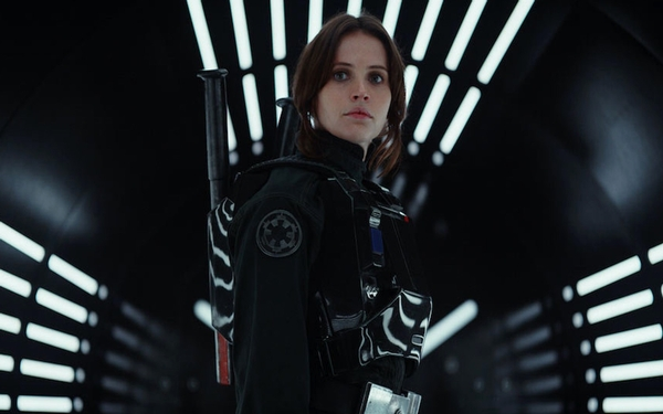 Felicity Jones, the heroine of 'Rogue One: A Star Wars Story'