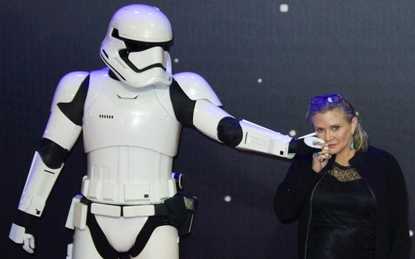 BREAKING NEWS - Carrie Fisher, 'Star Wars' actress, screenwriter & author, dies at 60