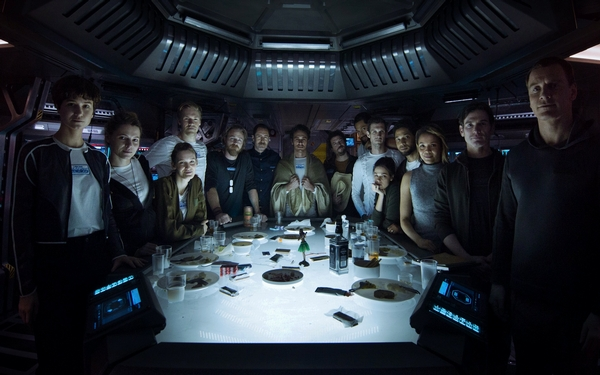 'Alien Covenant' is at odds with itself