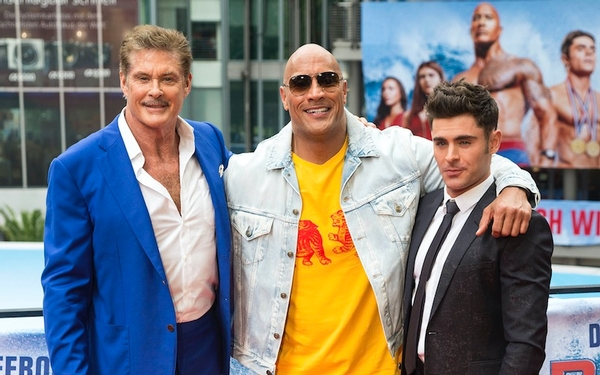 Original 'Baywatch' TV star David Hasselhoff rides the wave of renewed interest