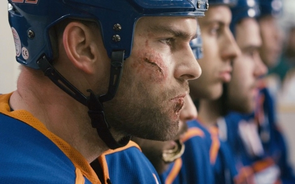 Jay Baruchel moves behind the camera with blood-on-the-ice hockey comedy 'Goon: Last of the Enforcer