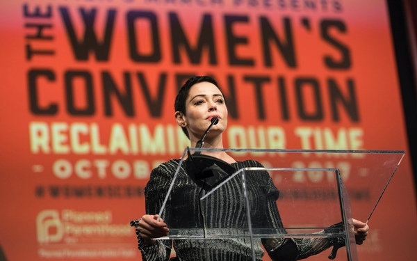 Rose McGowan vows to raise consciousness with E! series 'Citizen Rose'
