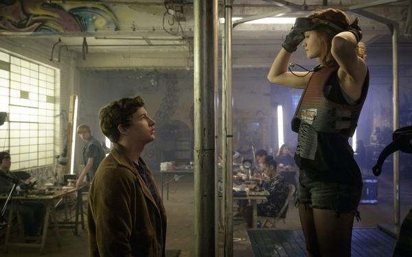 Steven Spielberg and author Ernest Cline discuss 'Ready Player One'