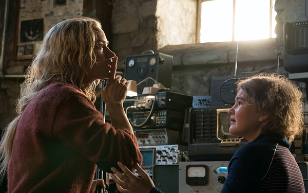 Shut up and spread the word: 'A Quiet Place' is a thrillingly intelligent monster movie