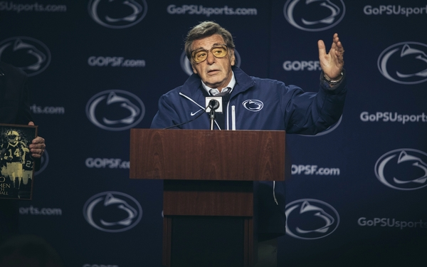 Al Pacino opens his playbook on tackling coach Joe Paterno in new HBO film