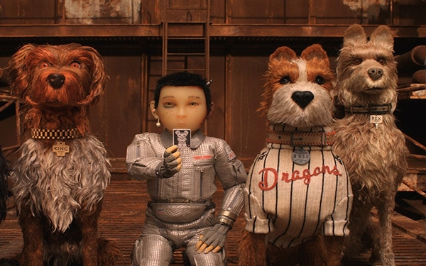 Bryan Cranston, Bill Murray get their bark on for Wes Anderson's 'Isle of Dogs'