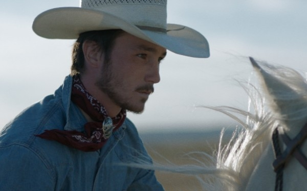 <i>The Rider</i> star Brady Jandreau strides through his first film fearlessly
