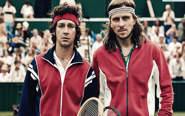 A classic tennis rivalry is dramatized in 'Borg vs. McEnroe'