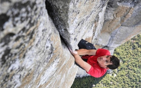 <i>Free Solo</i> is a jaw-dropping exploration of climber Alex Honnold's unimaginable feat