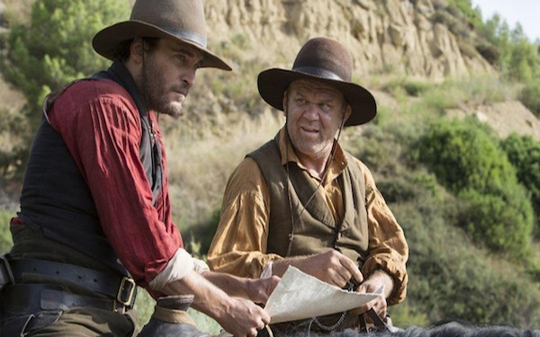 John C. Reilly and Joaquin Phoenix play 'The Sisters Brothers'