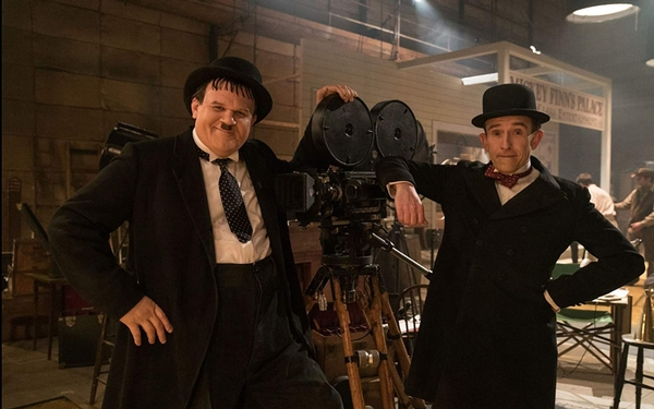 'Stan & Ollie' review: Steve Coogan, John C. Reilly shine as comedy lions in winter