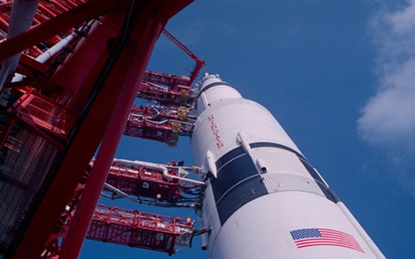 Riveting 'Apollo 11' takes us back in time with original moon mission footage