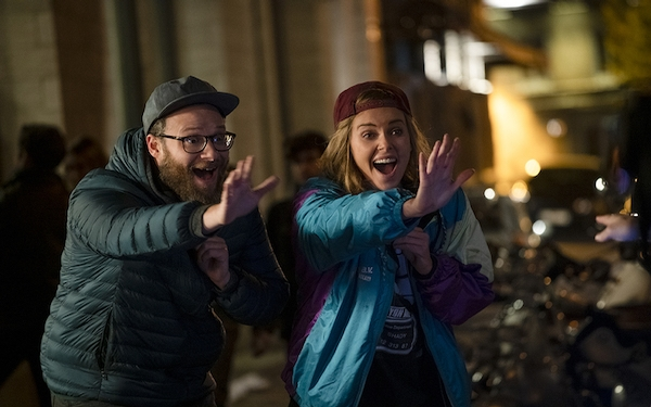 Refreshing 'Long Shot' makes Rogen, Theron a winning pair